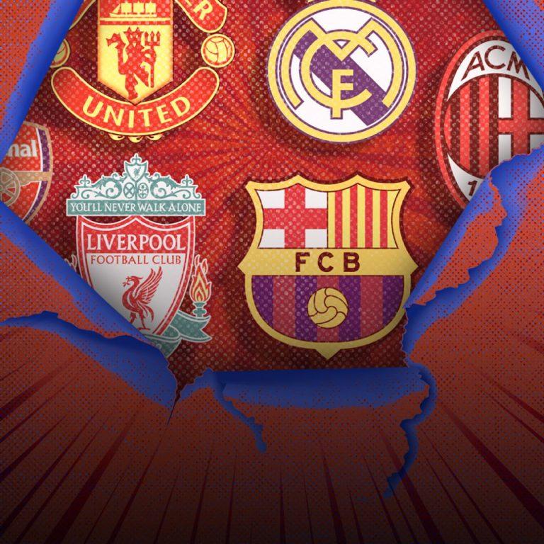 European Super League …